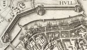 Hollar Hull, view of HulL Castle
